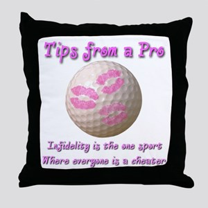 Infidelity Throw Pillow