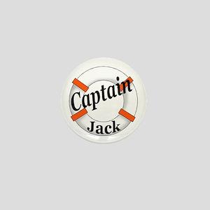 Captain Jack Mini Button