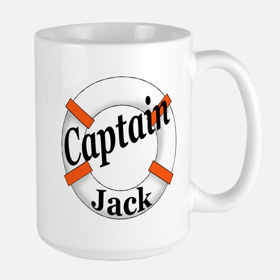 Captain Jack Large Mug