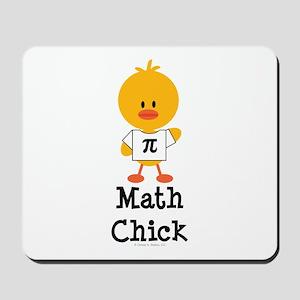 Math Chick Mousepad