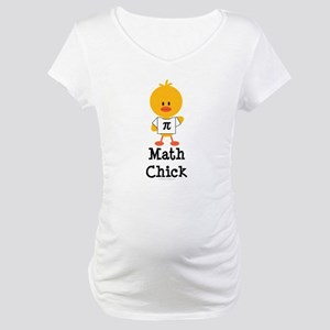 Math Chick Maternity T-Shirt