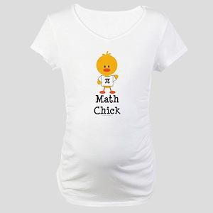 Math Chick Maternity T-Shirt