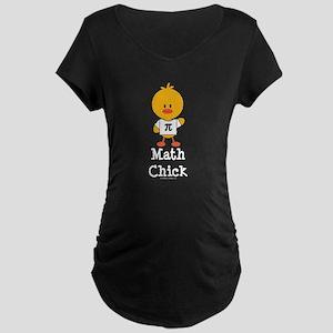 Math Chick Maternity Dark T-Shirt