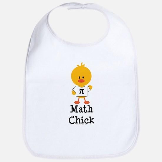 Math Chick Bib