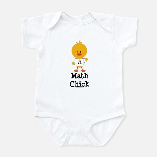 Math Chick Infant Bodysuit