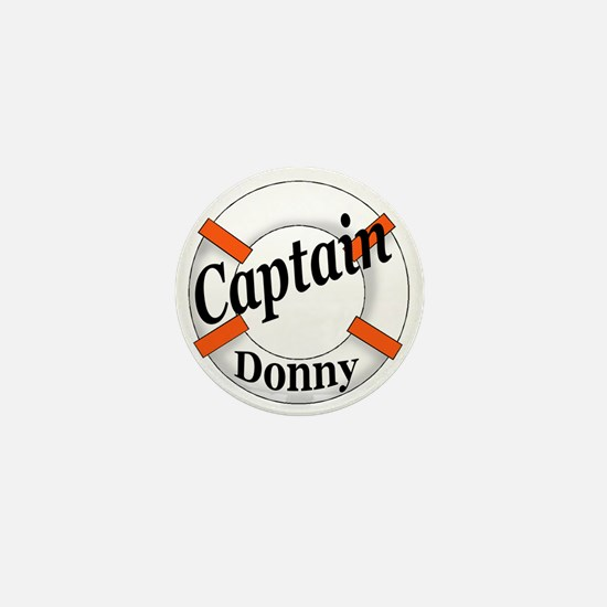 CAPTAIN DONNY Mini Button