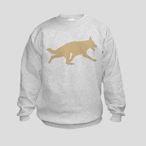German Shepherd Dog Kids Sweatshirt