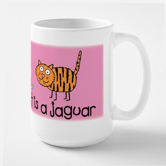 My Other Cat... Large Mug