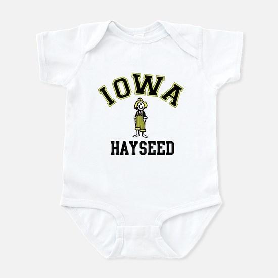 Iowa Hayseed Infant Bodysuit