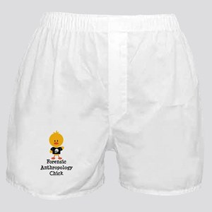 Forensic Anthropology Chick Boxer Shorts