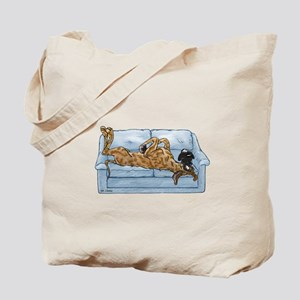 NBr On Couch Tote Bag