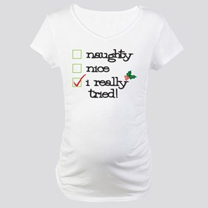 Checklist Maternity T-Shirt