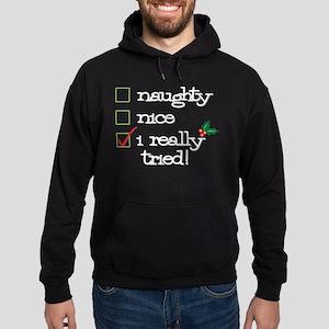 Checklist Hoodie (dark)
