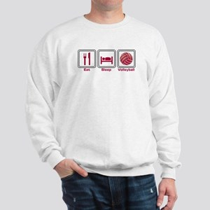 Eat Sleep Volleyball Sweatshirt