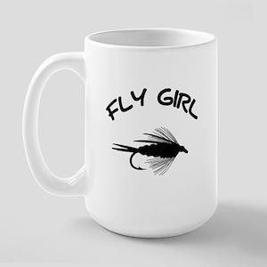 FLY GIRL Large Mug