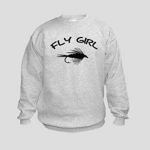 FLY GIRL Kids Sweatshirt