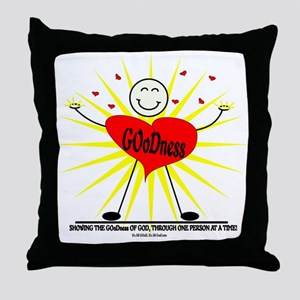 Let Your GOoDness Shine! Throw Pillow