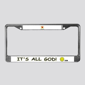 Let Your GOoDness Shine! License Plate Frame
