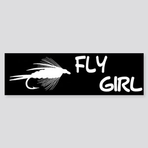 FLY GIRL Bumper Sticker