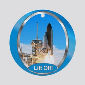 Lift Off! Ornament (Round)