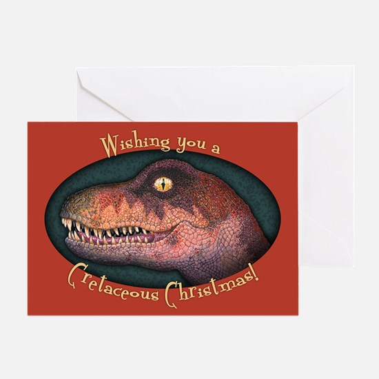 Cretaceous Critter Greeting Card