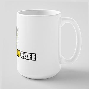 Large Mandolin Cafe Logo Coffee Mug