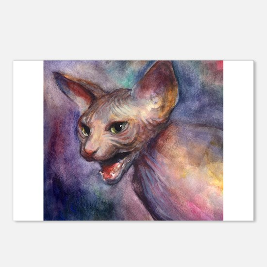 Sphynx Cat 30 Postcards (Package of 8)