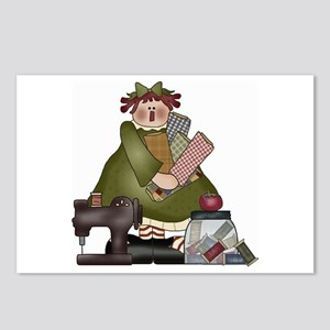 Sewing Annie Postcards (Package of 8)