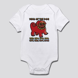 Chinese Year of the Dog Infant Bodysuit