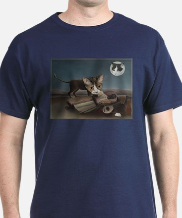 Sleeping Gypsy with Cats T-Shirt
