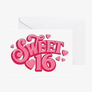 Sweetheart 16 Greeting Card