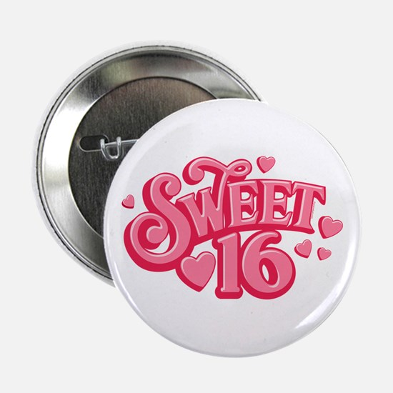 "Sweetheart 16 2.25"" Button"