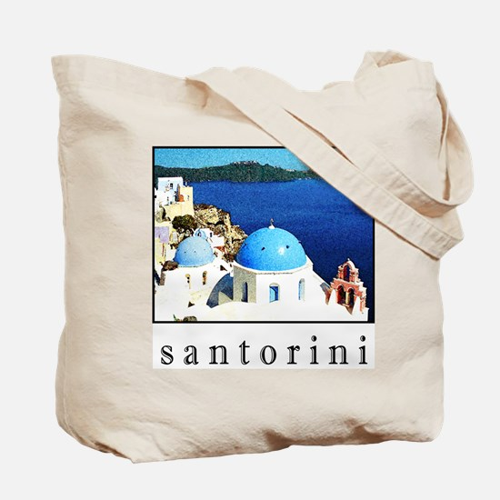 Santorini Tote (T-SHIRTS ALSO AVAILABLE!)