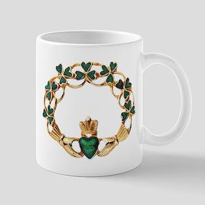 Emerald Claddagh Mug