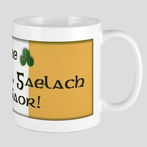 'Ireland United, Gaelic and Free!' Mug
