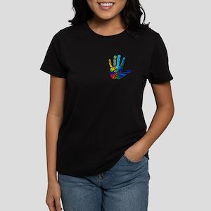 Massage Hand Women's Dark T-Shirt