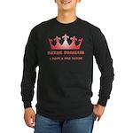 Red Kayak Long Sleeve Dark T-Shirt