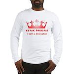 Red Kayak Long Sleeve T-Shirt