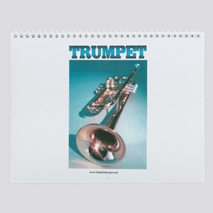 Trumpet Home Decor Wall Calendar
