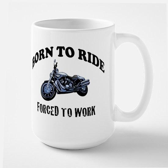 BORN TO RIDE Large Mug