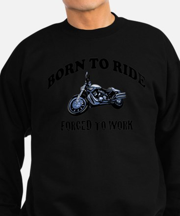 BORN TO RIDE Sweatshirt (dark)