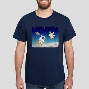 Alien & Astronaut Dark T-Shirt