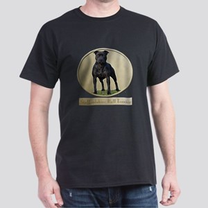 Staffordshire Bull Terrier Dark T-Shirt