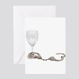 Drinking issues Greeting Card