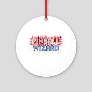 Pinball Wizard Ornament (Round)