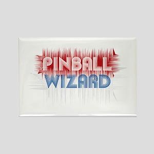 Pinball Wizard Rectangle Magnet
