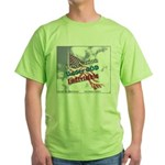 One Nation under GOD Green T-Shirt