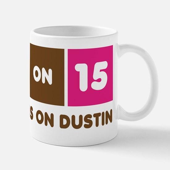 America Runs On Dustin Mug