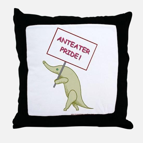 Anteater Pride Throw Pillow