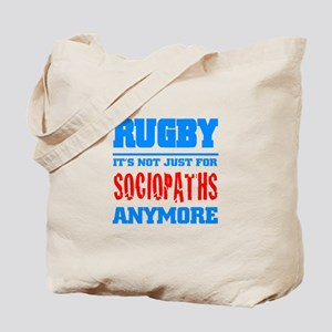 Rugby Sociopaths Tote Bag